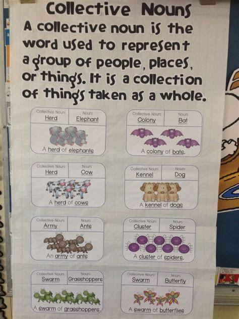 collective nouns part  collective nouns nouns  verbs nouns