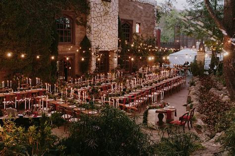 A Glam Harry Potter Wedding at Hollywood Castle   Green