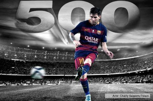 Liga Española | Lionel Messi cumple hoy 500 partidos con la camiseta del Barcelona
