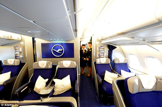 German airline Lufthansa recently installed humidifiers in the first class of its Airbus A380s, which will help customers to arrive feeling fresh