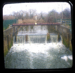 The Sluice by the tip in Ipswich