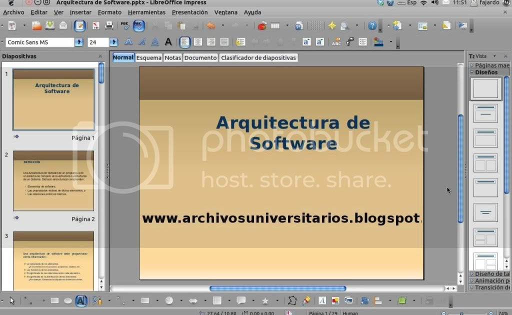 Aportes universitarios para ingenieria arquitectura de for Software para arquitectura