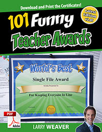 Fun Awards for Teachers