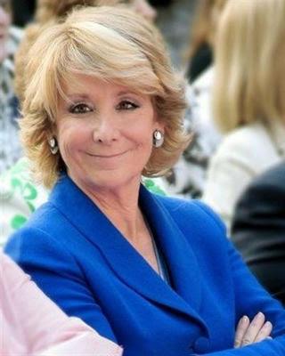 La expresidenta de la Comunidad de Madrid, Esperanza Aguirre. -EUROPA PRESS
