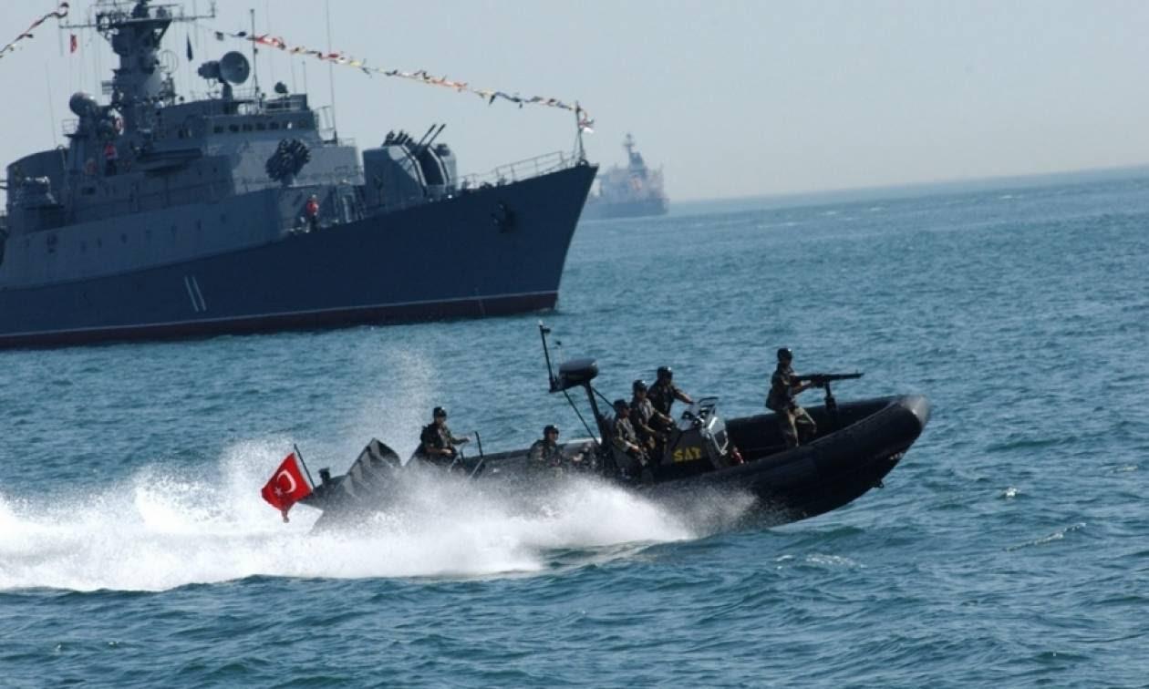 Αποτέλεσμα εικόνας για προκλήσεις Τούρκων Αιγαίο
