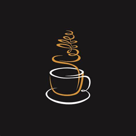 logos coffee design vector