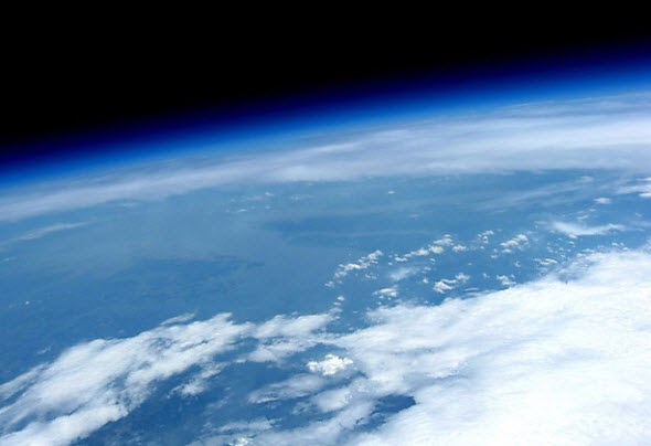 Is it possible to see the curvature of the Earth with the