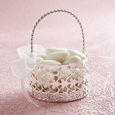 Metal Cut Out Favour Basket   Confetti.co.uk
