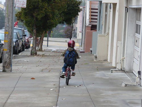 First School Bicycle Commute