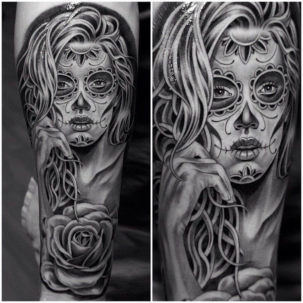 Sugar Skull Tattoo Tattoomagz