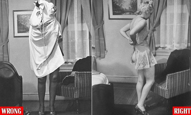 How to undress for your husband 1930s style: LIFE's step-by-step guide to stripping in the bedroom after claims that disrobing the wrong way was driving up America's divorce rate