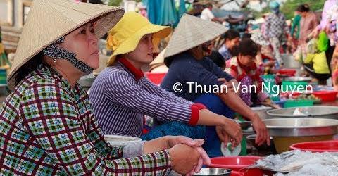 Vietnam || Lai Vung Rural Market || Dong Thap Province