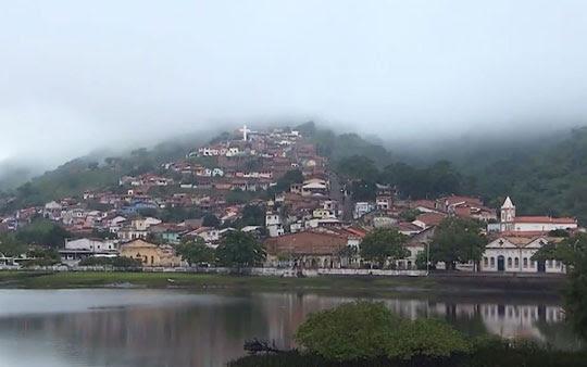 Cidade de Cachoeira, no recôncavo baiano | Foto: Reprodução/TV Bahia