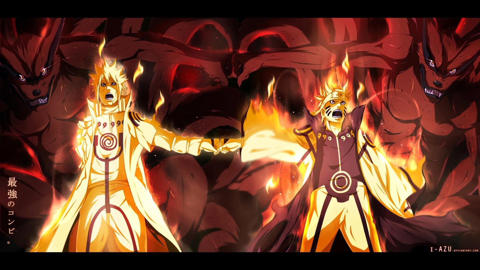 Naruto And Boruto Wallpaper 3840x2160