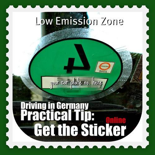 Environmental Badges Low Emission Zone