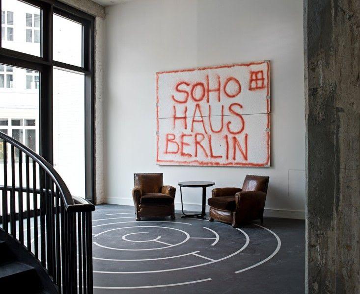 Soho House Graffiti in Berlin, Germany | Remodelista