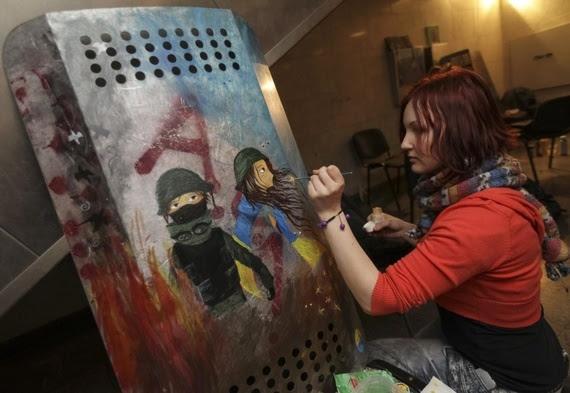 Ukraina, Kiev, bạo loạn, biểu tình