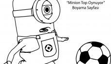 Minyonlar Boyama Sayfası