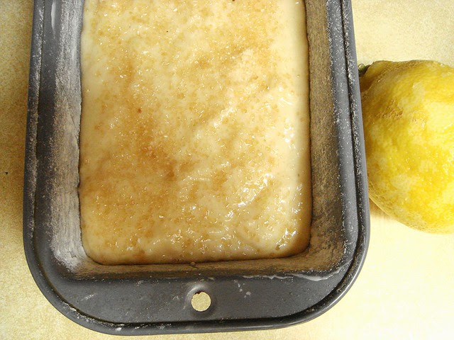 French Lemon Yogurt Bread
