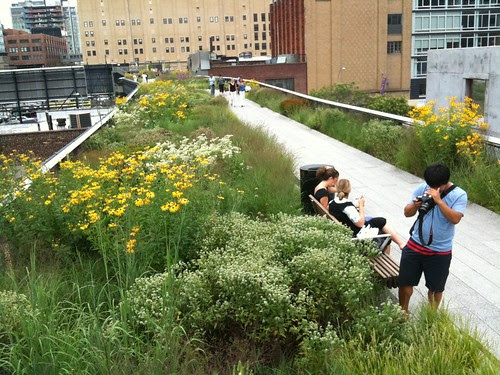 High Line Park, near the 20th St. end