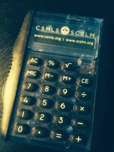 Your very fancy calculator gift from the CSMLS