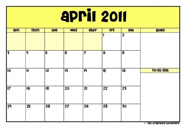 april 2011 calendar printable with holidays. april 2011 calendar printable.