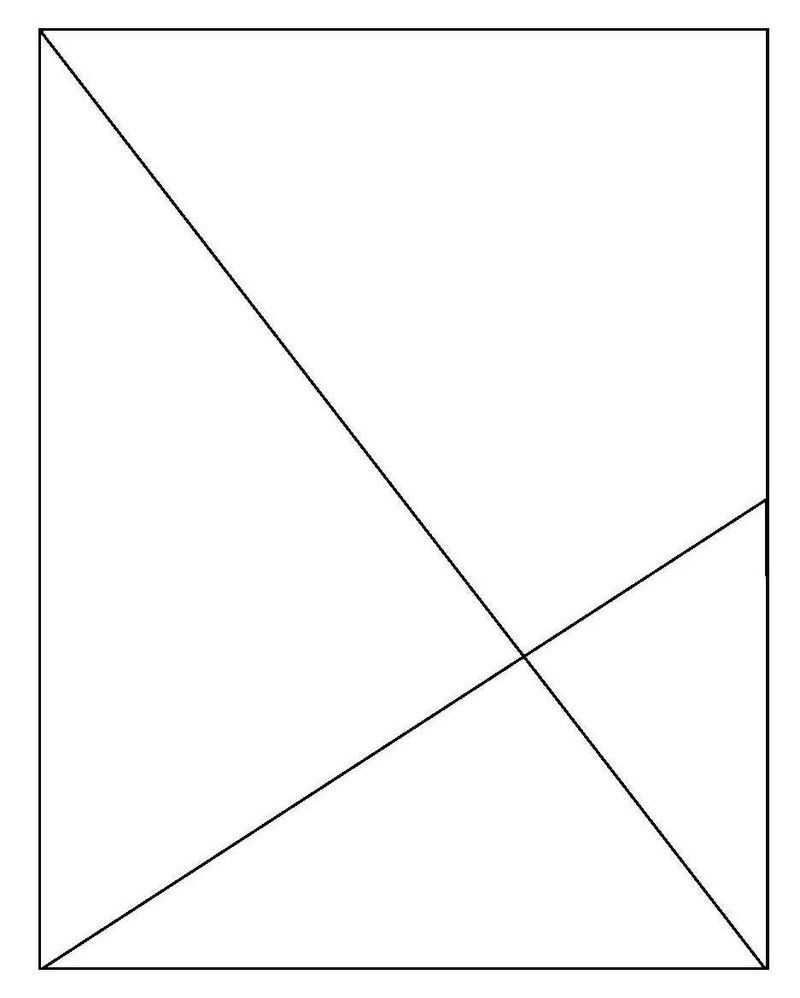 Diagonal Lines Sketch