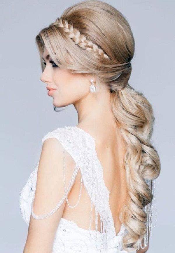acconciature cerimonia capelli lunghi - Acconciature per invitati  matrimonio capelli lunghi o corti fai da te 3b9240d4d05d
