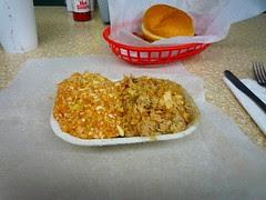 bbq platter, Lexington BBQ