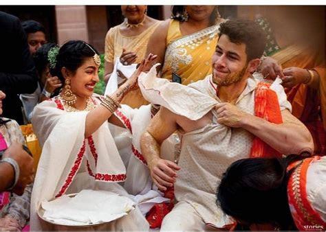 Unseen Wedding Pics From Priyanka Chopra And Nick Jonas
