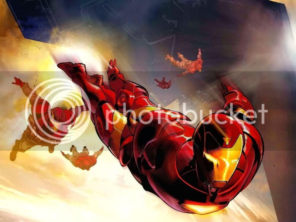 Homem de Ferro em ação