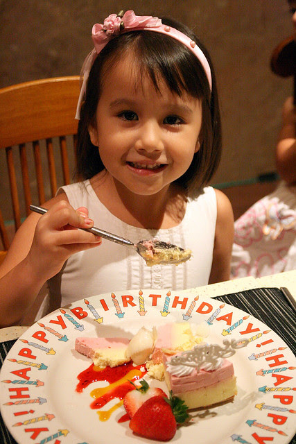 Jolie turns five