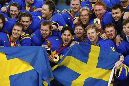 Sweden celebrates gold medal 2006