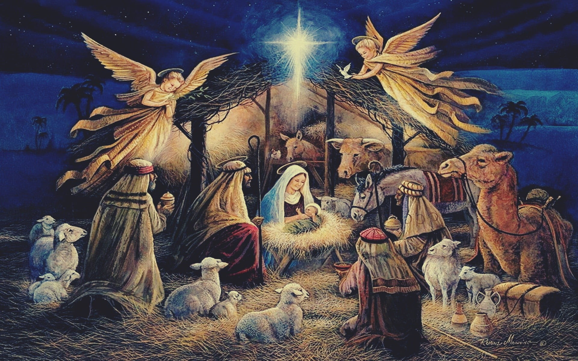 Nativity Scene Wallpapers (60+ background pictures)