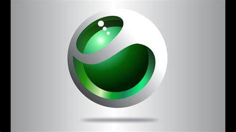 logo design  coreldraw sony ericssion youtube
