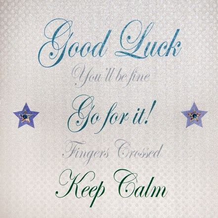 Good Luck   Words & Stripes (PD162)   Cards   Good Luck
