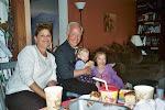 Grandma and Pepe Gaboury with the girls