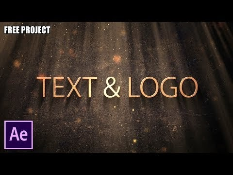 After Effects Tutorial: Ancient Text & Logo (Free Project)