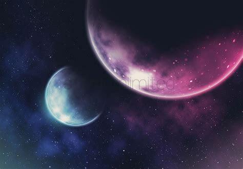 galaxy background design stock photo