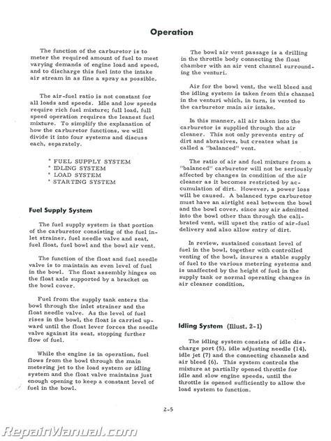 International Harvester Gas Engine Service Manual | eBay