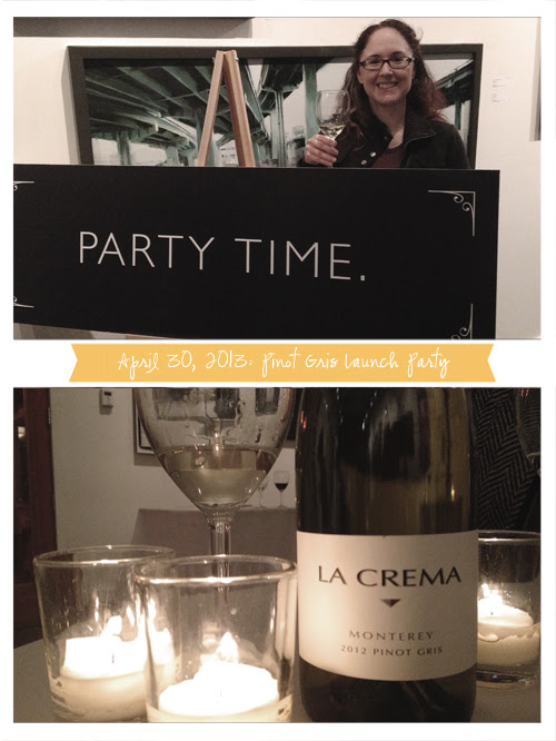 The La Crema Wines Launch Party for Their Pinot Gris