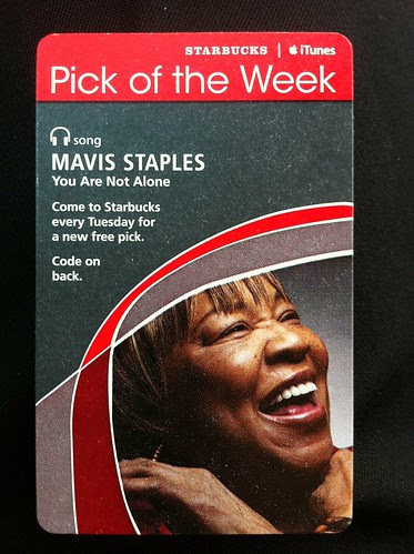 Starbucks iTunes Pick of the Week - Mavis Staples - You Are Not Alone