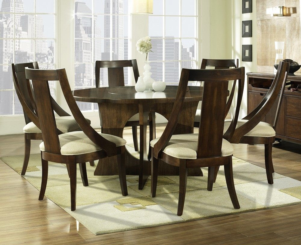 30 Eyecatching Round Dining Room Tables Design Ideas For Dining RoomPlywoodChair.com