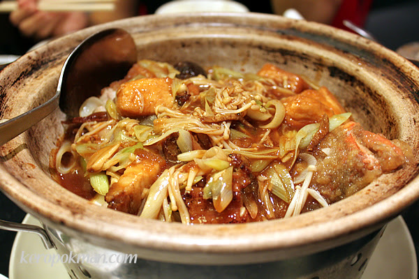 Claypot Fish Head