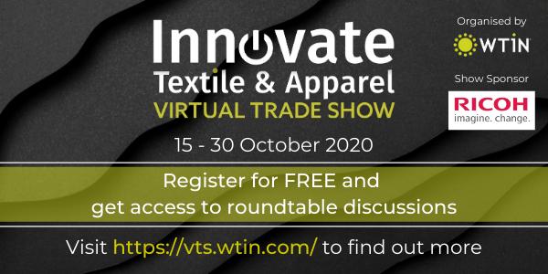 Innovate Textile & Apparel Virtual Trade Show (15-30 oct 2020)