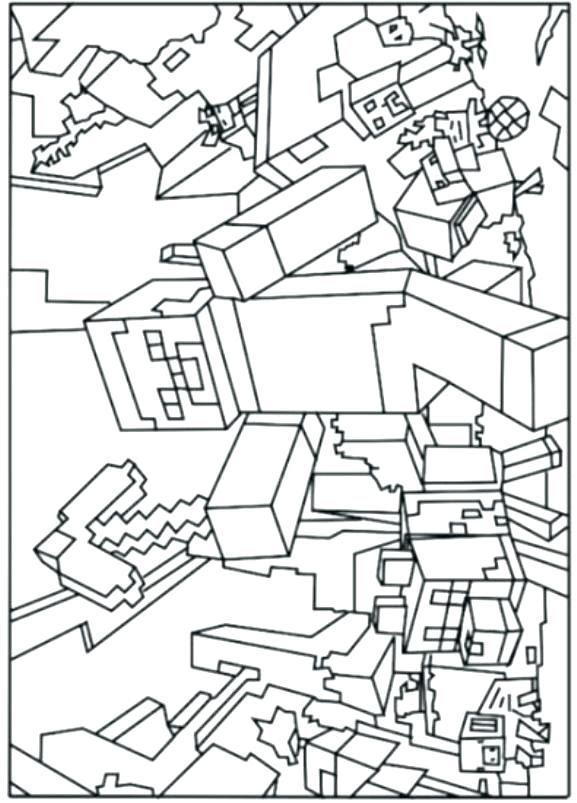 minecraft bilder zum ausmalen creeper  malvorlagen