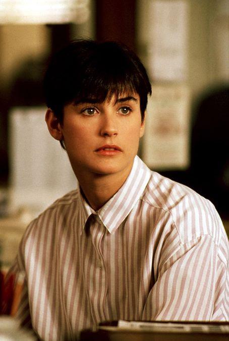 Demi Moore, 1990 - Best Short Hair Cuts - The Cut