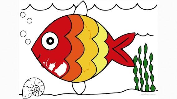 (En çok aranan) Balık Resmi Boyama