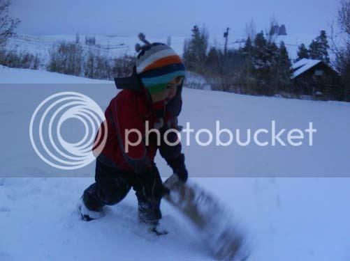 First Good Snow 2008