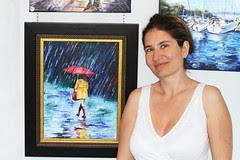 Fte du monde-Montreal 2011 (Claudia Mandl) Tags: jean montreal peinture exposition fete monde parc peintures drapeau